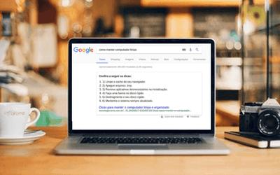 Featured Snippet: como rankear na posição 0 do Google